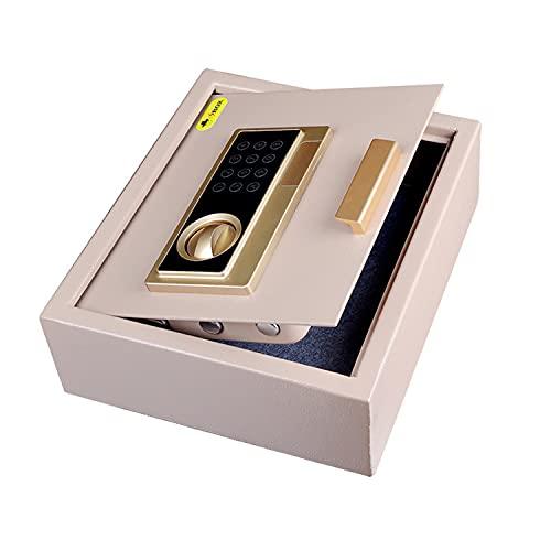 Caja De Seguridad Electrónica, Caja De Seguridad De Seguridad, Caja Fuerte Impermeable Impermeable Cerradura De Combinación Con Llave Y Código, Caja Fuerte Para El Hogar, Mini Oficina De Seguridad Ant
