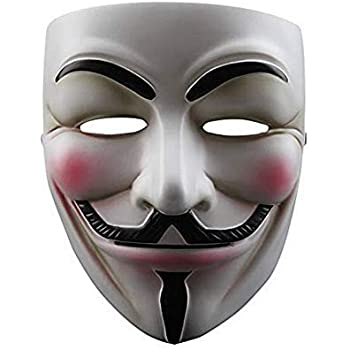 NEVLANTII V for Vendetta Anonymous Guy V for Vendetta Mask One Size