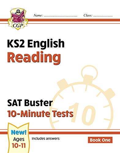 New KS2 English SAT Buster 10-Minute Tests: Reading - Book 1 (for the 2020 tests) (CGP KS2 English SATs) (English Edition)