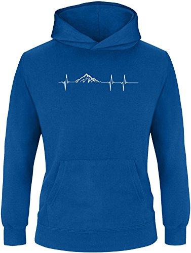 EZYshirt® Skifahren | Berg Frequenz | Snowboard Freestyle Winter Kinder Hoodie