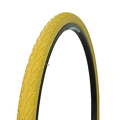 Bicycle Wanda Tire 700x40c P-1134, Road Bike, Fixie, Hybrid, (Yellow)