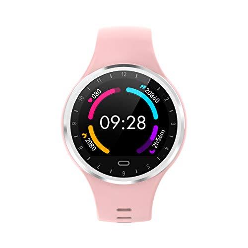 LSSLA Fitnesstracker met hartslagfrequentie-bloeddrukmeter, waterdicht fitnesshorloge, bluetooth-smart-horloge met datasensor, voor slaapritten, stappenteller, uniseks