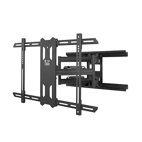 "Kanto PDX650 Full Motion Articulating TV Wall Mount for 37-inch to 75-inch TVs | Low Profile with 22"" Extension 