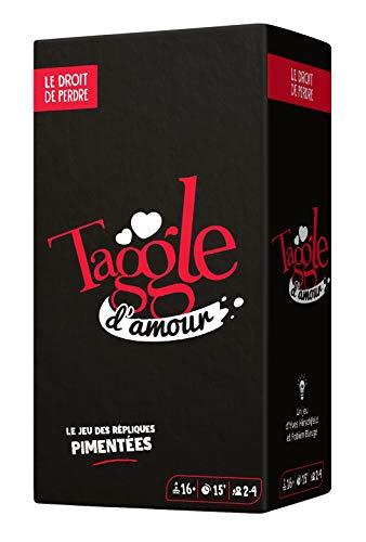 Le Droit de Perdre- Taggle d'amour (Nouveau Format) Jeu de Societe, DRO0017TA, Multicolore