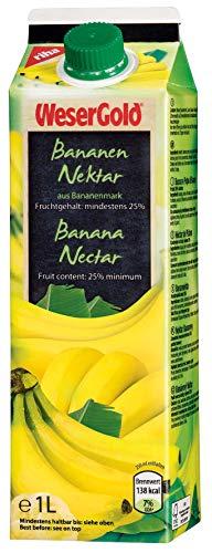 Wesergold Bananennektar 25% 1l