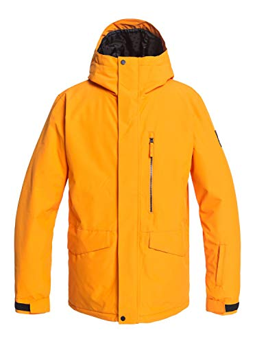 Z0OL0|#Quiksilver Mission Solid - Giacca Da Snowboard Da Uomo Giacca Da Snowboard, Uomo, flame orange, XL