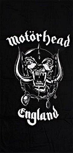 Motörhead–Toalla England playa warpig Skull Logo Bath Towel Toalla