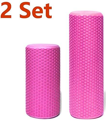 HLJ Muscle Roller Stick - Perfect for Trigger Points, Deep Tissue, Myofascial release, Been, Quads & Calf Dichtheid - Ontworpen om stress te verlichten en Relax strakke spieren (Color : Orange)