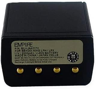 Bendix King DPHX5102X-CMD 2-Way Radio Battery (Ni-CD 10V 1500mAh) Rechargeable Battery - Replacement for Bendix LAA0170 Battery