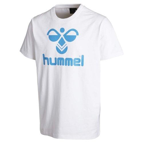 Hummel Jungen T-Shirt Classic Bee Tee, White, 12 ( 140 - 152 ), 08-467-9001