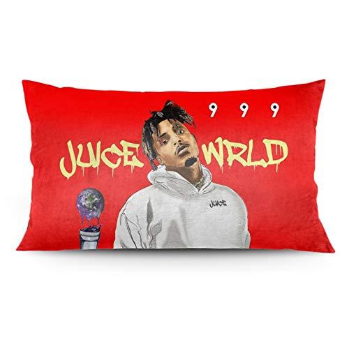 J-Uice Wrld - Funda de almohada decorativa larga para sofá, cama, decoración del hogar, 50 x 91 cm