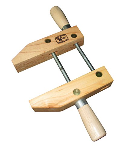 Dubuque Clamp Works Made in USA Wood Hand Screw Clamp 6 inch Hard Maple Jaw