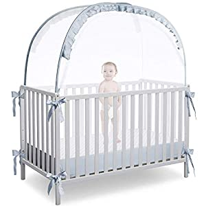 crib bedding and baby bedding l runnzer baby crib tent safety crib net to keep baby in, pop up crib tent canopy keep baby from climbing out