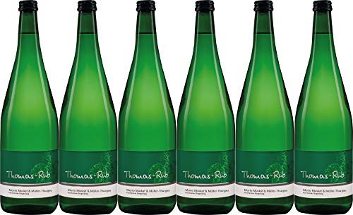 Thomas-Rüb Morio-Muskat & Müller-Thurgau QbA 1L 2019 Lieblich (6 x 1.0 l)
