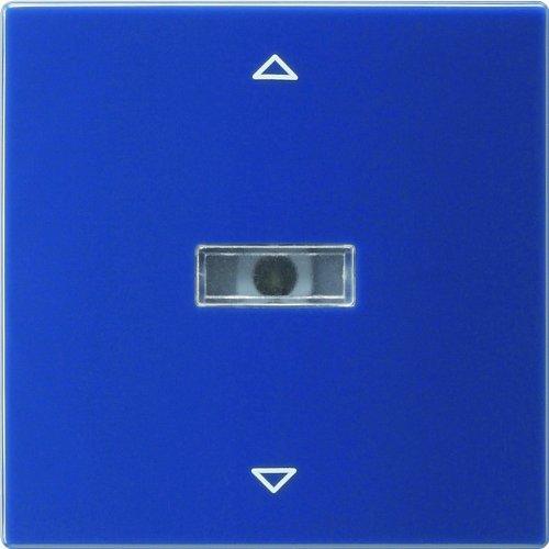 Gira 064446 Aufsatz Jalousie S-Color, blau
