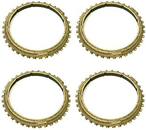Omaha Mall Set of 4 Synchro Rings Compatible 2002-2005 with 911 Boston Mall GT2 Porsche