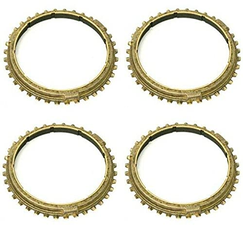 Set of 4 Synchro Rings Compatible with Porsche 911 GT2 2002-2005