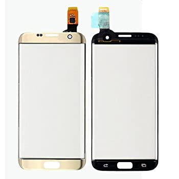 Front Screen Touch Panel Digitizer Replacement for Samsung Galaxy S7 Edge G935 Gold