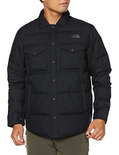 [ザノースフェイス] ジャケット ウィンドストッパーゼファーシェルシャツ メンズ ブラック 日本 L (日本サイズL相当)