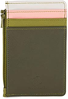 mywalit Women's Credit Card Holder W/Coin Purse Green