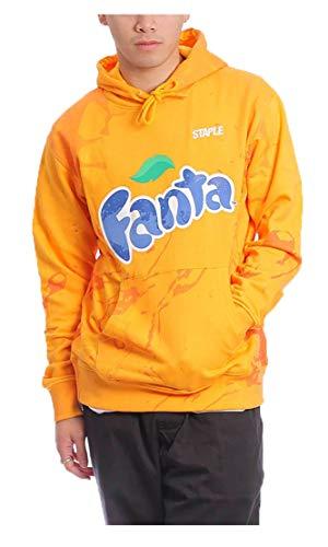 STAPLE X Fanta Sudadera con capucha original garantizada Arancione X-Large