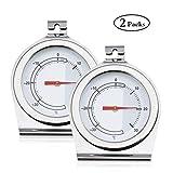Analoges Thermometer für Kühl- und Gefrierschrank Bestcool 2erTemperaturbereich -30 bis