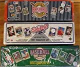 3 Upper Deck Baseball Factory Sealed Set Lot 1990 1991 1992 Includes Chipper Jones Rookie and Many More Great Cards!!!. rookie card picture
