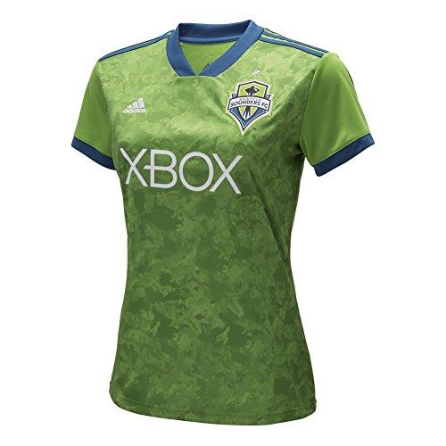 adidas - Camiseta réplica para Mujer de Jrsy SS W MLS, Mujer, 7415W BGL, Rave Green, XX-Large