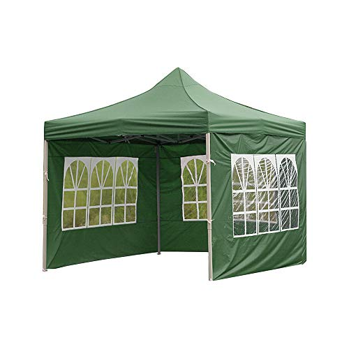 YDXC Party Water Styles Oxford Brewer Outdoor Surface Replacement Accessories Gazebo Roof Garden Shed Waterproof (Roman Window, Green)