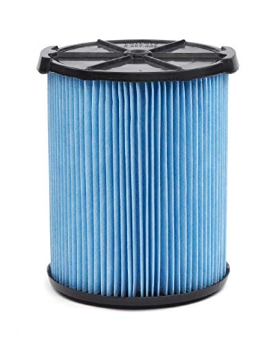 CRAFTSMAN CMXZVBE38751 Fine Dust Wet/Dry Vac Filter for 5 to 20 Gallon Shop Vacuums, Blue And Black (9-38751)