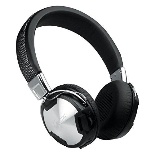 ARCTIC P614 BT - Premium Bluetooth On-Ear Kopfhörer mit Mikrofon, Austauschbare Ohrenpolster, Kabelloses Headset mit Bluetooth 4.0 & NFC-Pairing, Neodym-Treiber, Studio-Kopfhörer - Schwarz