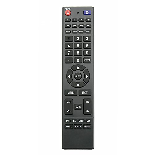 850125633 Remote Replacement fit for Hitachi TV LE43A509A LE55A6R9A LE43A6R9 LE32E6R9 LE32A509 LE39A309 LE43A509 LE50A6R9 LE50A6R9A LE55A6R9 LE49A509 LE49A6R9 LE50A3