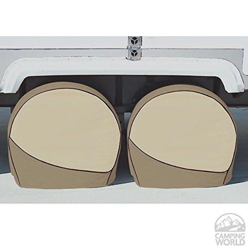 ADCO 3962 Designer Series Tan Tyre Gard Wheel Cover,30' - 32'