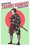 Manga Tanjiro kamado - Demon Slayer: Kimetsu no Yaiba: Blank lined notebook / journal (6 x 9 - 120 pages) Limited Edition