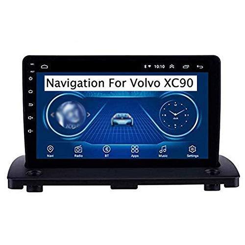 Para Volvo XC90 2004-2014 Android 8.1 Unidad principal de doble Din Estéreo para automóvil Pantalla táctil de 9 pulgadas Navegación GPS Reproductor multimedia manos libres SWC Receptor de radio, 4g