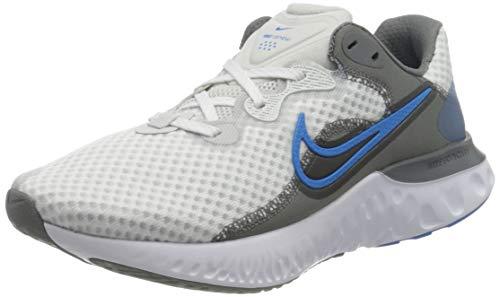 Nike Renew Run 2, Zapatillas para Correr Hombre, Photon Dust Photo Blue Smoke Grey White, 44 EU