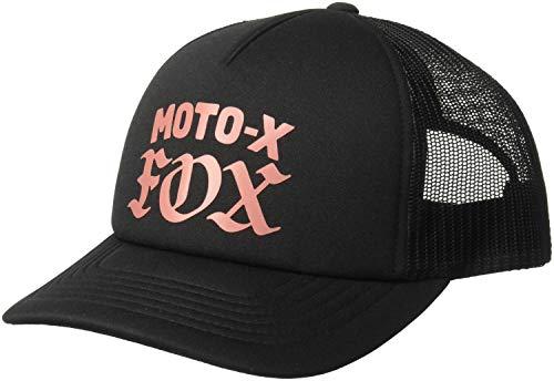 Fox Gorra De Béisbol para Mujer (Talla única, Negro)