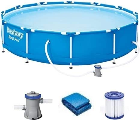 Viking Sports Piscina Bestway con Molti Accessori - 366x76cm