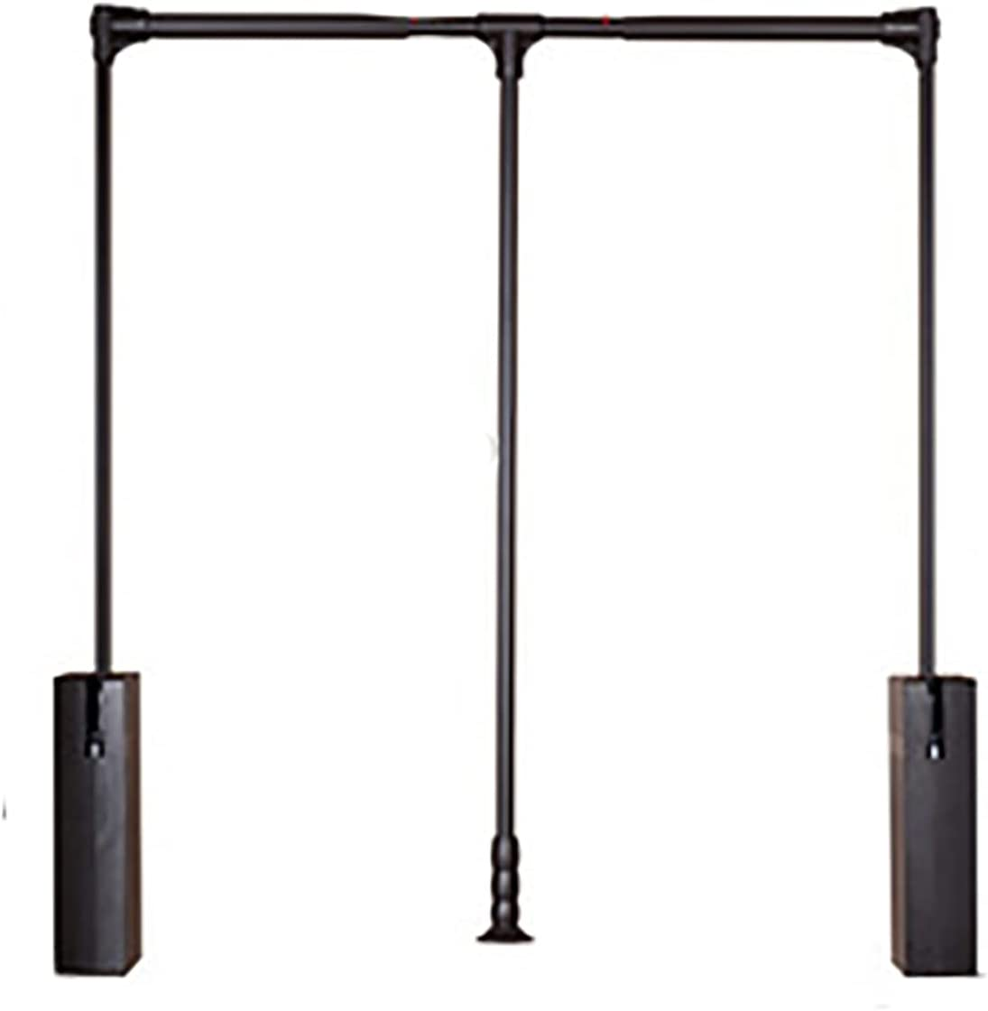Pull Down Bargain sale Hanging Wardrobe Rail Buffer Automat 90 Degree All items in the store Double