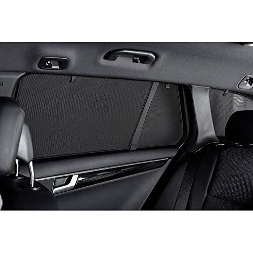 Car Shades MB-CCLS-E-D Satz passend für Mercedes C-Klasse W205 Kombi 2014-(8-teilig), Schwarz