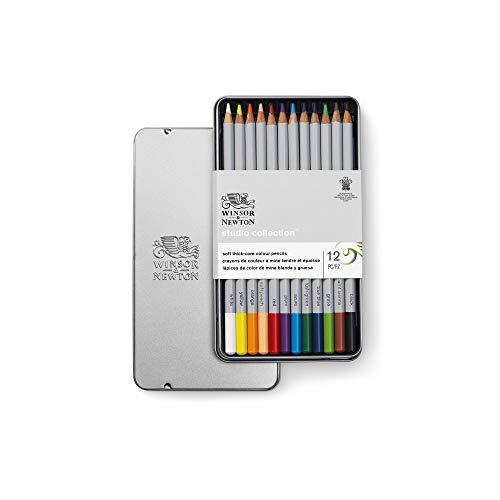 Winsor & Newton Colores, Multicolor, 12 lápices ⭐