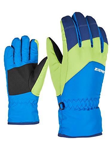 Ziener Kinder Lando Glove junior Ski-Handschuhe/Wintersport, persian blue, 7 (XL)