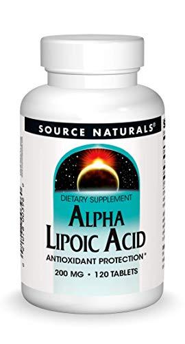 Source Naturals Alpha Lipoic Acid 200mg, 120 Tablets