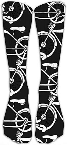 Bicicletas Calcetines de compresión Calcetines de fútbol Calcetines altos Calcetines largos para correr, médicos, atléticos, edema, diabéticos, varices, viajes, embarazo, férulas, enfermería.