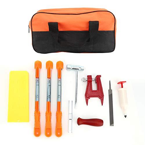 Werkzeugsatz für Kettensägenfeilen mit...