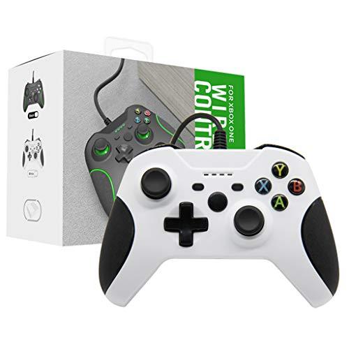 NOWON Control de Controlador con Cable para X Box One Slim Controller...