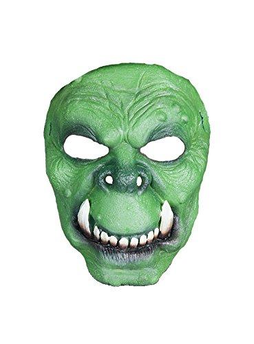 MW Halloween Carnaval de Partie Masque Orc de Latex Costume d'horreur pour Adultes