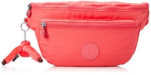 Kipling Unisex-Erwachsene Waistpack, Adjustable, Multipocket, Zip Closure Yasemina XL, Hüfttasche, verstellbar, mit Mehreren Taschen und Reißverschluss, Grapefruit Orange Tonal, Einheitsgröße