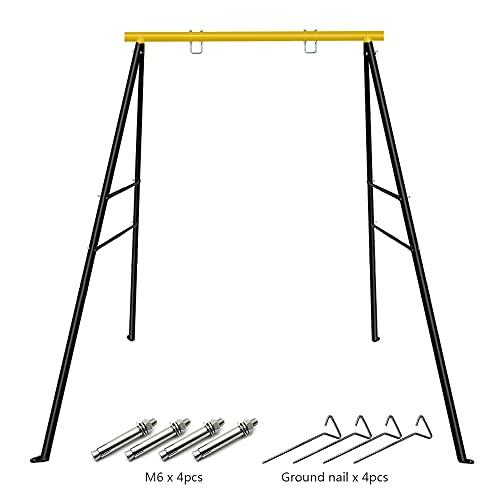 Kinderschaukel Metall Gestell Maximale Belastung 180 kg Kinder Garten Outdoor...