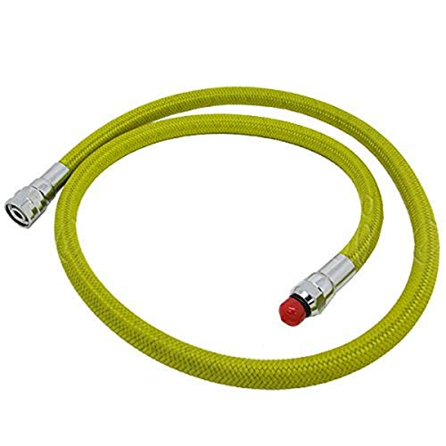 Scuba Choice Scuba Diving 36' Nylon Braided Yellow Low Pressure Regulator Hose 2nd Stage